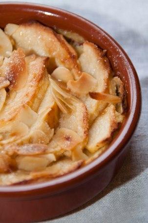 Dessert aux pommes et aux amandes-4