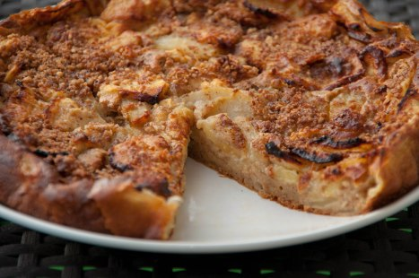 Gâteau pommes- poires- noisettes