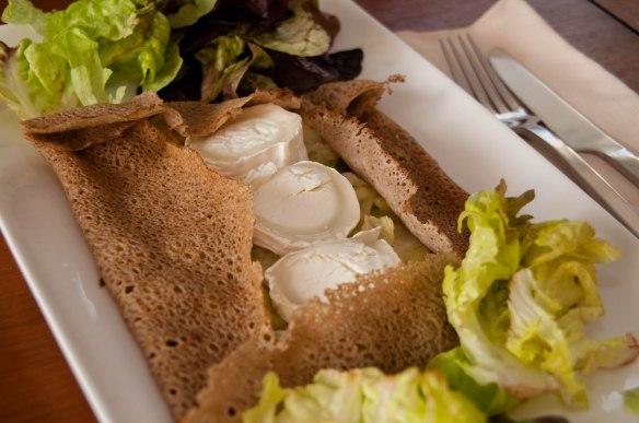 Galette aux poireaux et fromage de chèvre-2