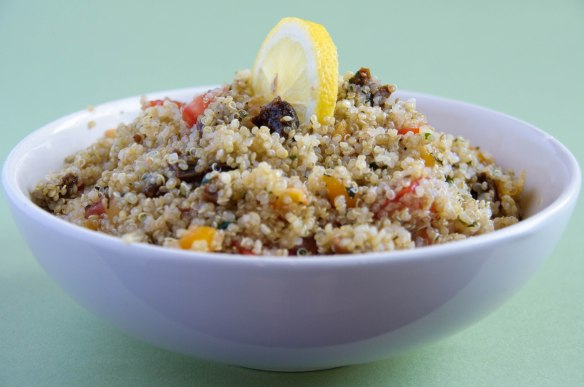 Salade de quinoa aux fruits secs-2